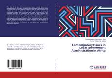 Contemporary Issues in Local Government Administration in Africa kitap kapağı