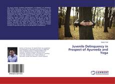 Capa do livro de Juvenile Delinquency in Prospect of Ayurveda and Yoga