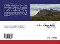 Couverture de Review of Slope Stability Assessment