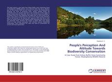 People's Perception And Attitude Towards Biodiversity Conservation的封面