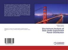 Couverture de Discriminant Analysis of Data Under Exponential Power Distribution