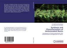 Couverture de Synthesis and Characterization of Antimicrobial Resins