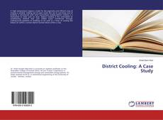 Copertina di District Cooling: A Case Study