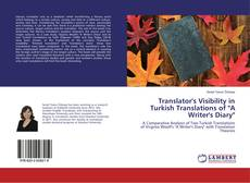"Bookcover of Translator's Visibility in Turkish Translations of ""A Writer's Diary"""