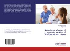 Capa do livro de Prevalence of types of cancers in patients of Visakhapatnam region