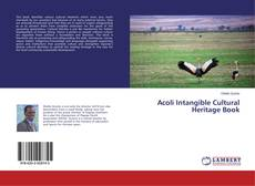 Bookcover of Acoli Intangible Cultural Heritage Book