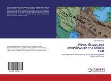 Buchcover von Views, Essays and Interviews on the Middle East