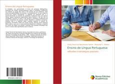 Capa do livro de Ensino de Língua Portuguesa: