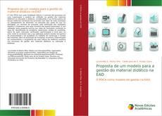 Portada del libro de Proposta de um modelo para a gestão do material didático na EAD