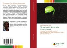 Portada del libro de Fitorremediação de solos contaminados