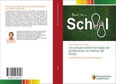 Capa do livro de Um estudo sobre formação de professores no interior de Goiás