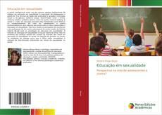 Capa do livro de Educação em sexualidade