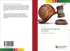 Capa do livro de A razoável duração do processo