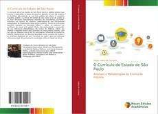 Capa do livro de O Currículo do Estado de São Paulo