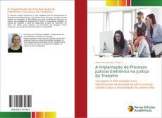 Buchcover von A Implantação do Processo Judicial Eletrônico na Justiça do Trabalho