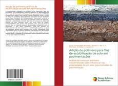 Adição de polímero para fins de estabilização de solo em pavimentações kitap kapağı