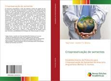Capa do livro de Criopreservação de sementes