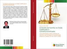 Capa do livro de O Direito de Família na Visão Codificada e Constitucionalizada