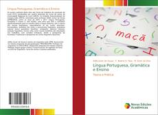 Capa do livro de Língua Portuguesa, Gramática e Ensino