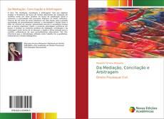 Buchcover von Da Mediação, Conciliação e Arbitragem