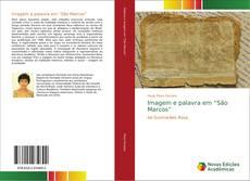 """Capa do livro de Imagem e palavra em """"São Marcos"""""""