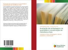 Capa do livro de Avaliação de embalagens na qualidade e conservação de mandioca chips