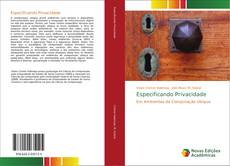 Bookcover of Especificando Privacidade