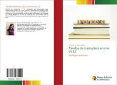 Capa do livro de Tarefas de tradução e ensino de L2