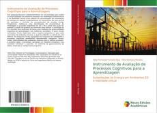 Capa do livro de Instrumento de Avaliação de Processos Cognitivos para a Aprendizagem
