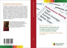 Portada del libro de Escala para avaliação de imagem corporativa de universidade privada