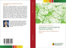 Capa do livro de A Biologia na promoção da literacia científica