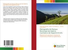 Capa do livro de Petrografia do Parque Municipal do Itabira, Cachoeiro de Itapemirim-ES