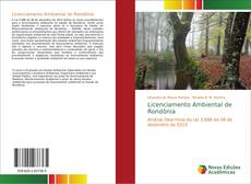 Portada del libro de Licenciamento Ambiental de Rondônia