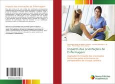Portada del libro de Impacto das orientações de Enfermagem