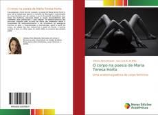 Capa do livro de O corpo na poesia de Maria Teresa Horta