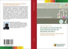 Capa do livro de Atividade leishmanicida de duas plantas típicas do Nordeste do Brasil