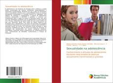 Capa do livro de Sexualidade na adolescência