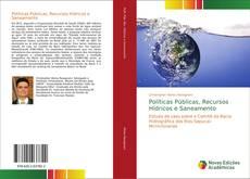 Portada del libro de Políticas Públicas, Recursos Hídricos e Saneamento