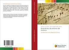 Capa do livro de Itinerários do ensino de música