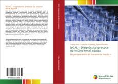 Buchcover von NGAL - Diagnóstico precoce da injúria renal aguda