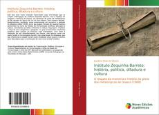 Capa do livro de Instituto Zequinha Barreto: história, política, ditadura e cultura