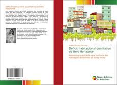Обложка Déficit habitacional qualitativo de Belo Horizonte
