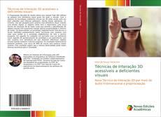 Capa do livro de Técnicas de Interação 3D acessíveis a deficientes visuais