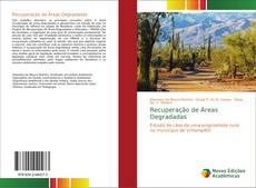 Capa do livro de Recuperação de Áreas Degradadas