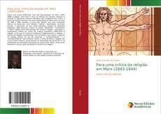 Capa do livro de Para uma crítica da religião em Marx (1843-1844)