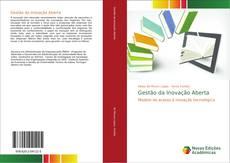 Capa do livro de Gestão da Inovação Aberta