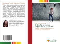 Capa do livro de O Desafio de Ensinar Engenharia no século XXI