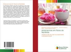 Capa do livro de Antocianinas em flores do Nordeste
