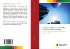 Capa do livro de Inventário de Conhecimento da Arquitetura Ausente