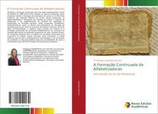 Capa do livro de A Formação Continuada de Alfabetizadoras